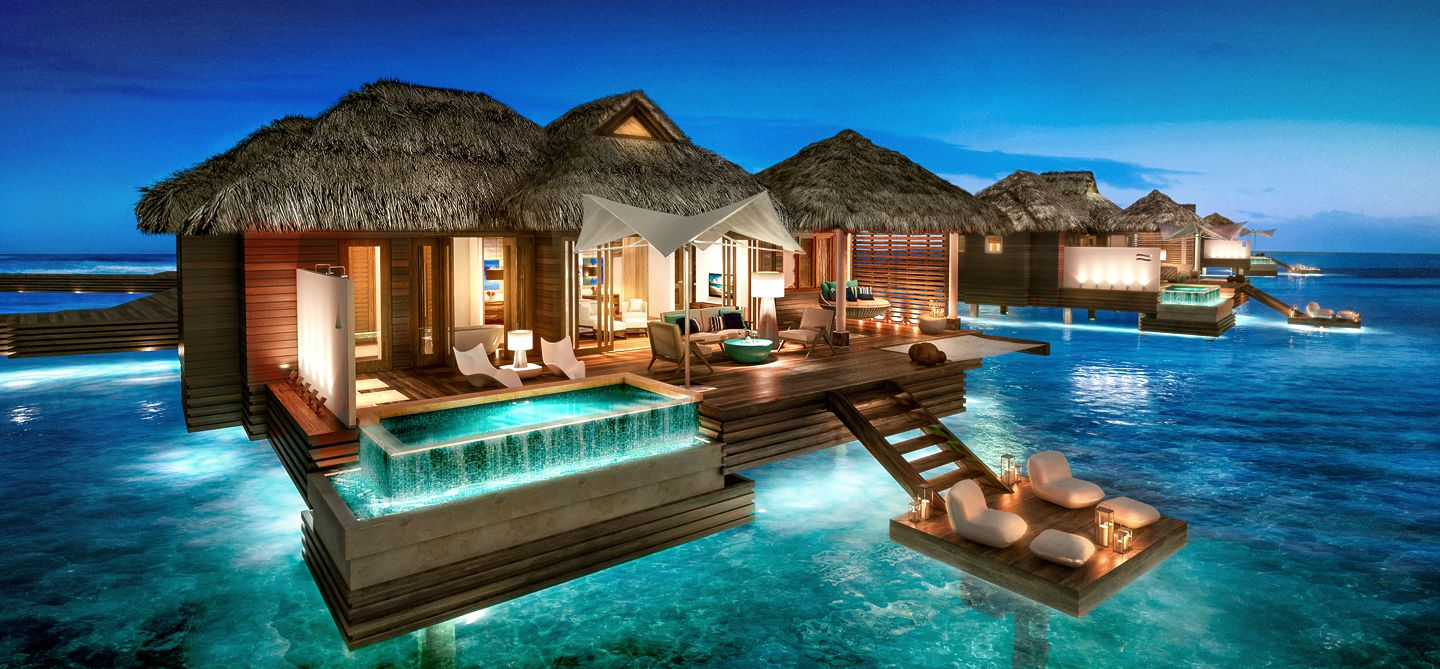 82b11df7c644c5 Sandals Over Water Bungalows In St. Lucia - Your Caribbean Insider