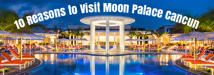 Moon Palace Cancun Nighttime