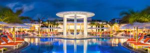 Moon Palace Cancun Nighttime